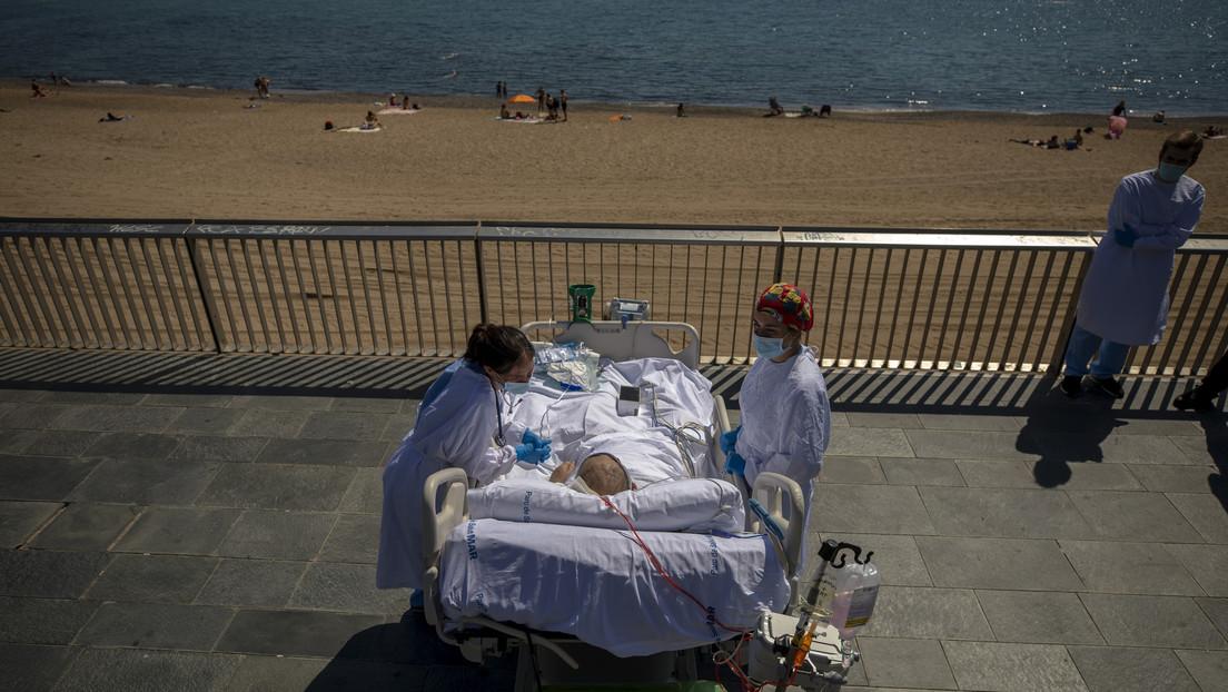 Hospital español receta salidas a la playa para pacientes con coronavirus de cuidados intensivos
