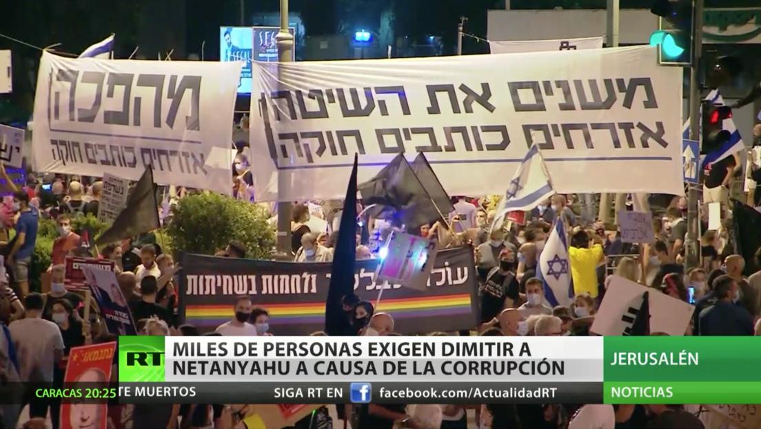Israel: Undécimo sábado consecutivo de protestas contra Netanyahu a causa de la corrupción