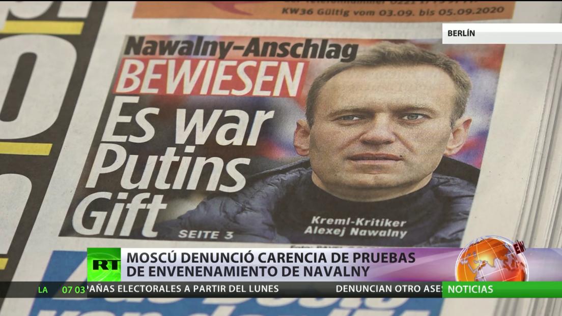Merkel: Navalny fue víctima de un ataque con Novichok
