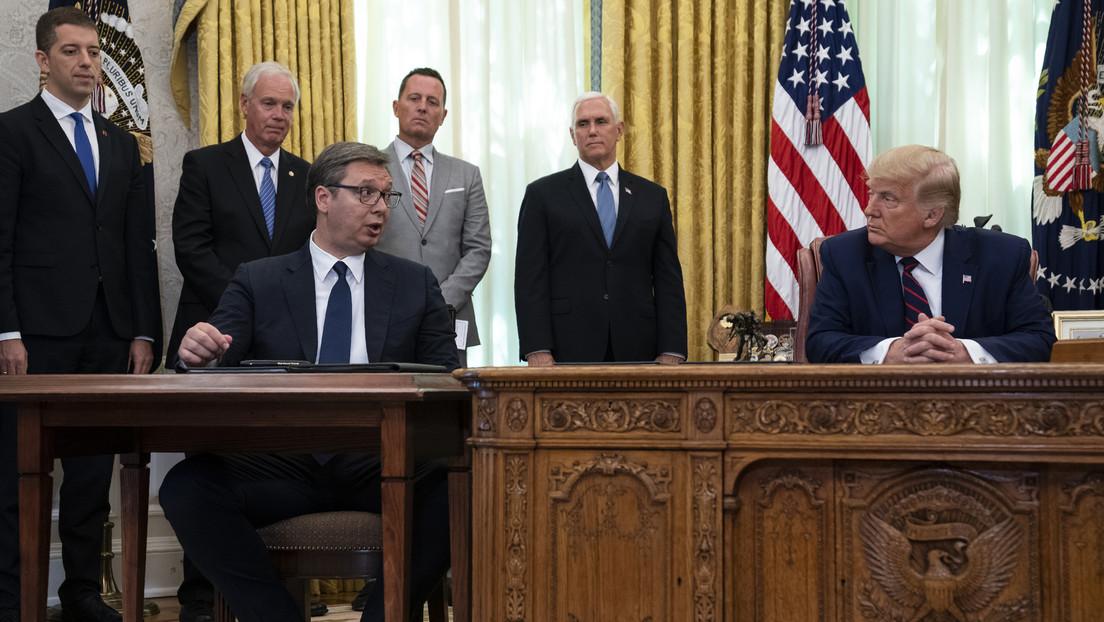 El presidente de Serbia informa a Lavrov sobre su visita a Washington y las próximas conversaciones en Bruselas