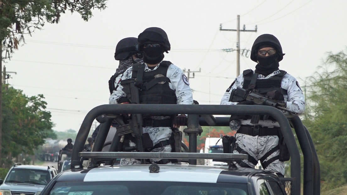México: La Guardia Nacional decomisa un 'narcotanque' artesanal en Michoacán (FOTOS)