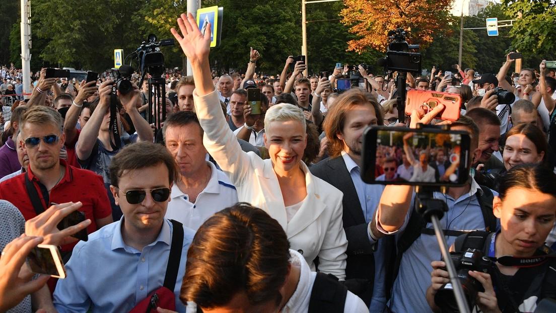 Denuncian la detención en Minsk de la miembro del Consejo de Coordinación  de la oposición bielorrusa María Kolésnikova - Prensa Objetiva