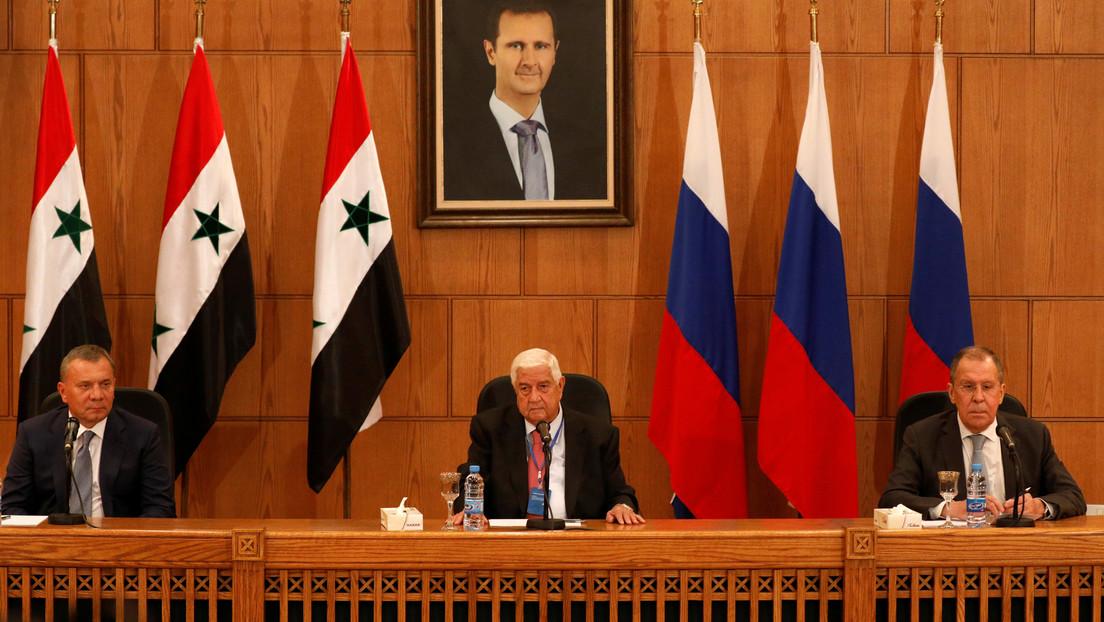 """Lavrov: """"Los pocos terroristas que aún están en el territorio de Siria están siendo liquidados y serán eliminados del todo"""""""