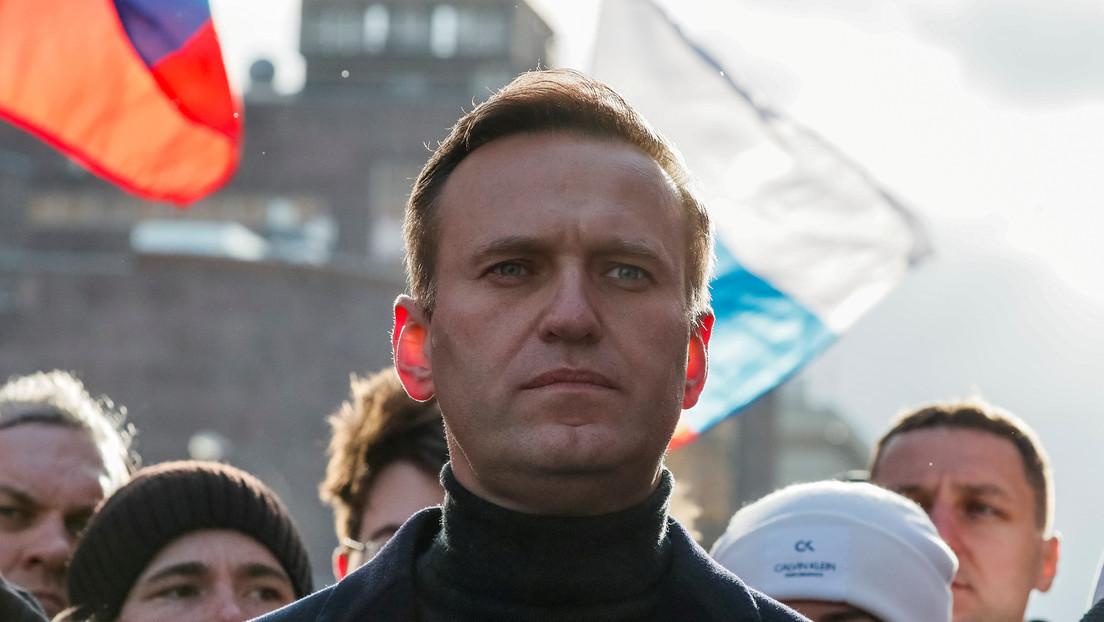 """Zajárova sobre el supuesto envenenamiento de Navalny: """"Hay la sensación de que el guion fue escrito de antemano"""""""