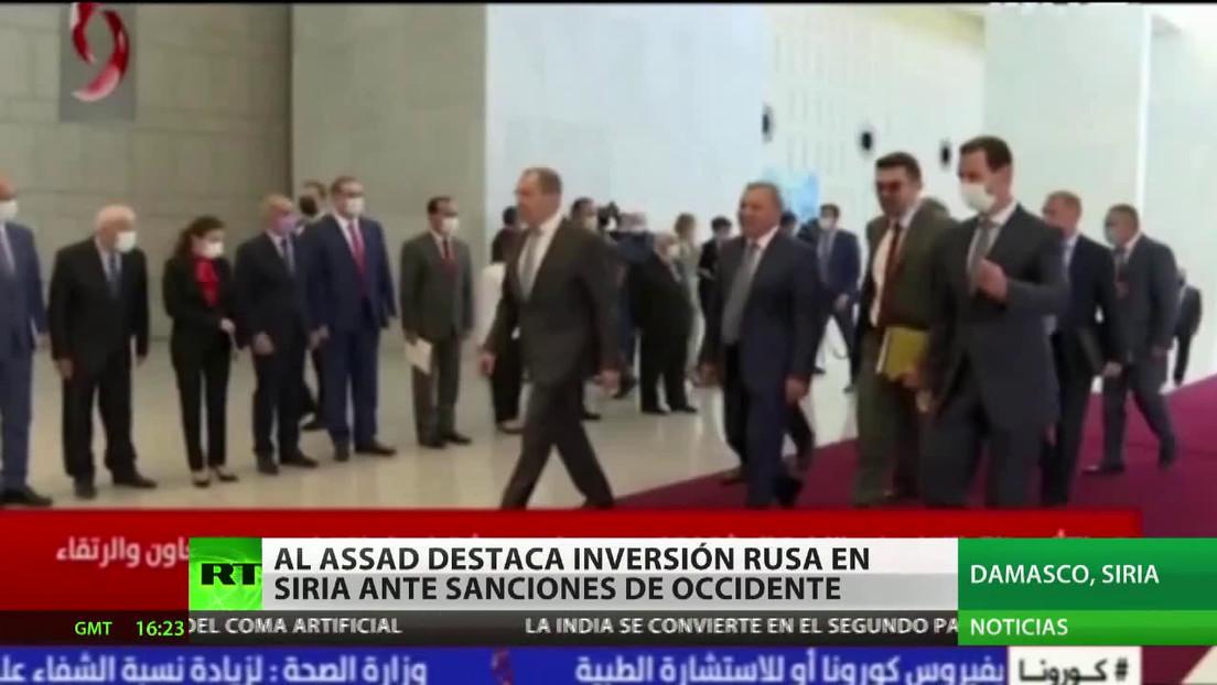 """Lavrov: """"Siria resistió con el apoyo ruso en la lucha antiterrorista"""""""