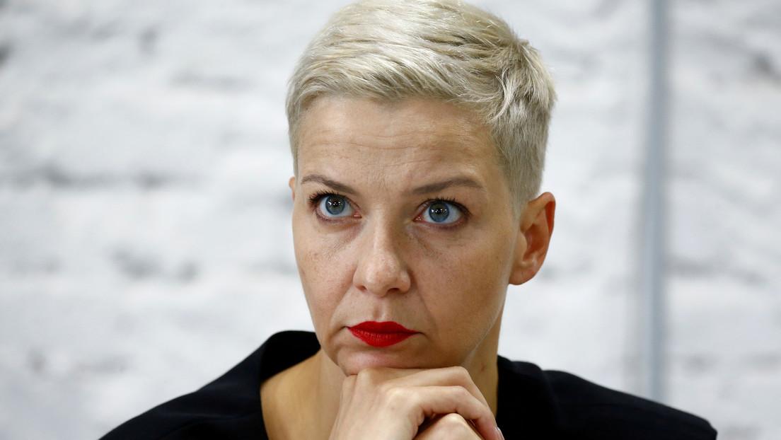 La opositora bielorrusa Kolésnikova fue detenida en la frontera con Ucrania, luego que fuera denunciada su desaparición en el centro de Minsk