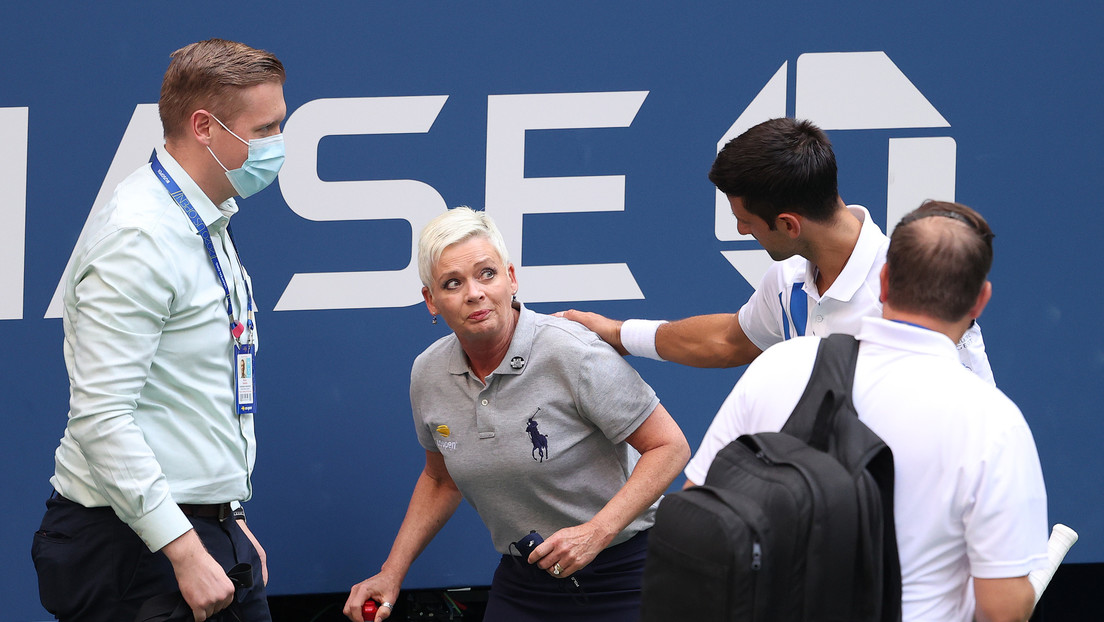 La juez de línea golpeada por una pelota de Novak Djokovic en el US Open recibe amenazas de muerte en las redes sociales