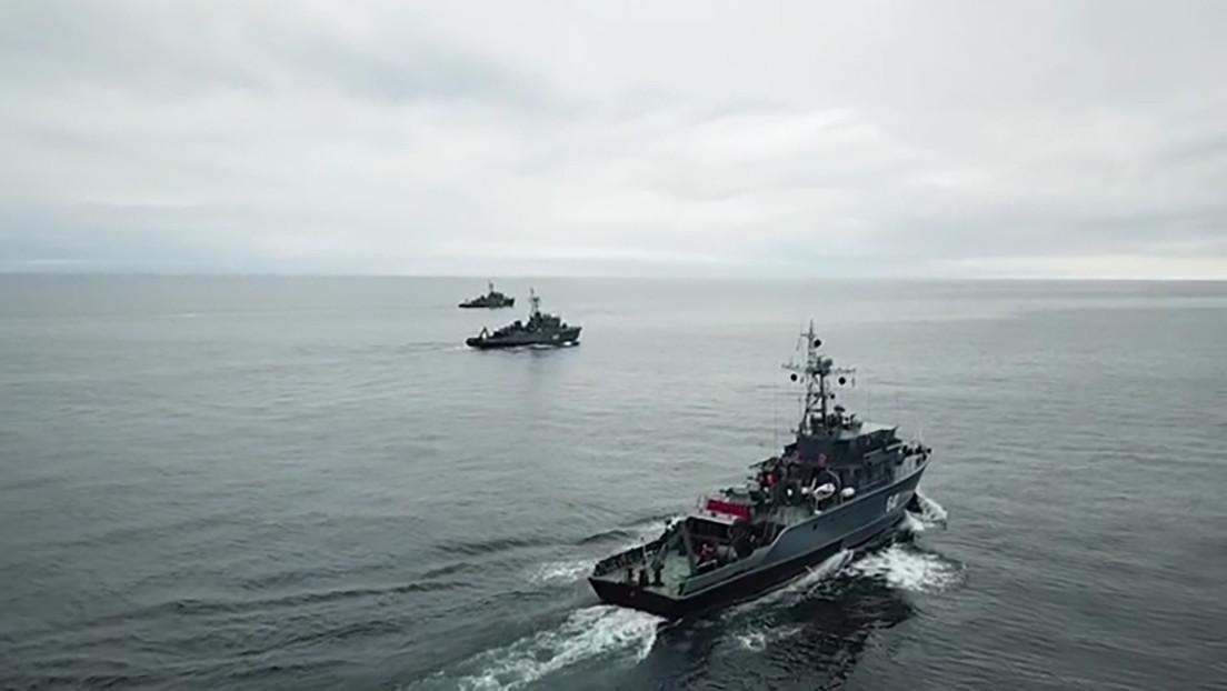 La Flota del Norte rusa vigila las actividades de los buques de la OTAN encabezados por un destructor de EE.UU. que entraron al mar de Barents