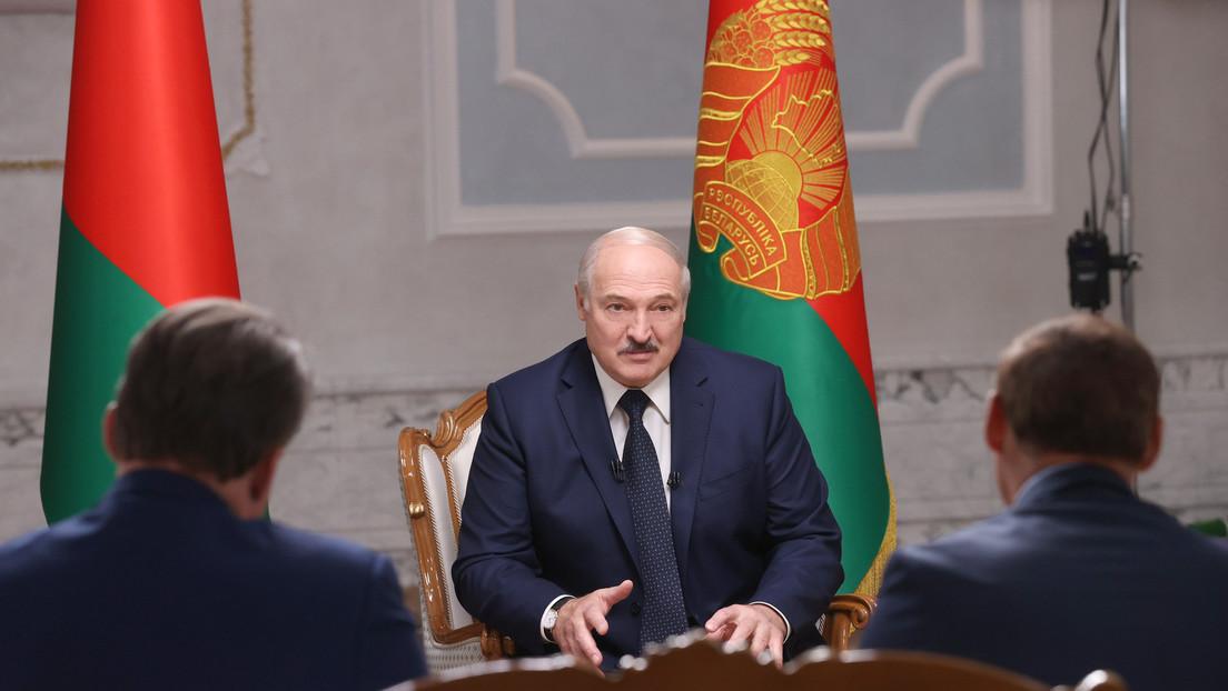 Lukashenko comenta la detención de Kolésnikova, revela cómo percibe las protestas masivas y qué piensa sobre los que están en su contra