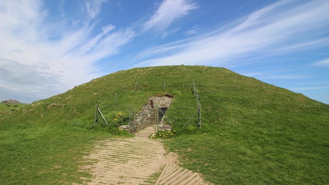 """Descubren que las """"casas de los muertos"""" del Neolítico se costruían 'boca abajo'"""