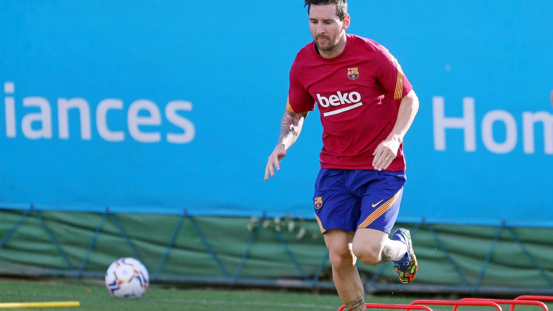 Esta sería la posición de Messi en el Barça al mando de Koeman