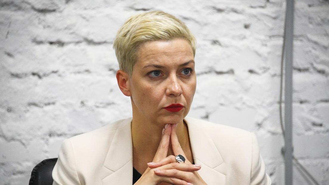 El padre de la opositora bielorrusa María Kolésnikova denuncia que se encuentra arrestada en un centro de detención de Minsk