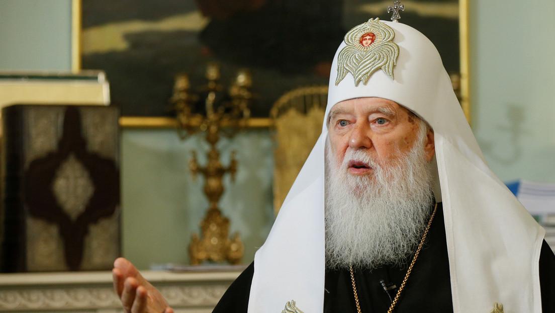 Un religioso ucraniano que culpó a los homosexuales por el coronavirus da positivo al covid-19