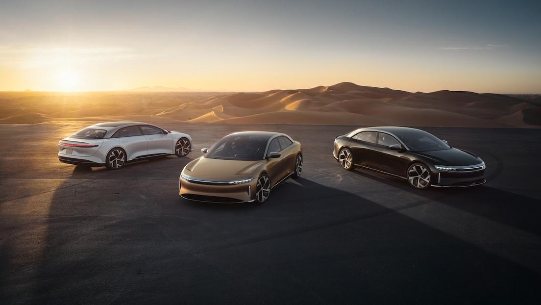 """Un rival de Tesla presenta el Lucid Air: """"el sedán eléctrico de lujo más potente y eficiente del mundo"""" (FOTOS)"""