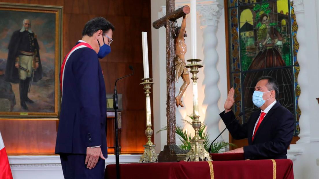 Asume funciones el tercer ministro del Interior peruano nombrado en menos de cinco meses