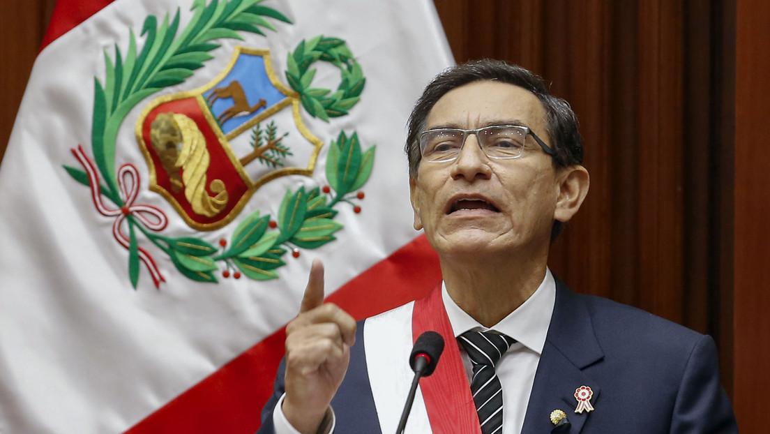 Presentan audios en el Congreso de Perú que comprometen al presidente Martín Vizcarra con el controvertido músico Richard 'Swing'