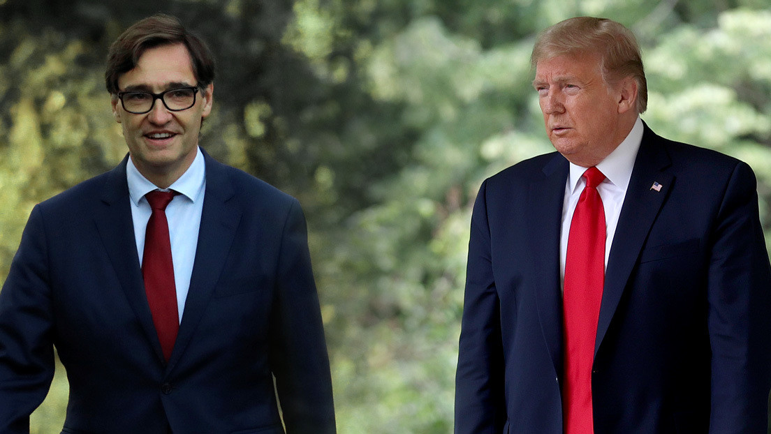 """El ministro de Sanidad de España responde a Trump: """"Nadie está en posición de dar lecciones y menos el actual presidente de EE.UU."""""""