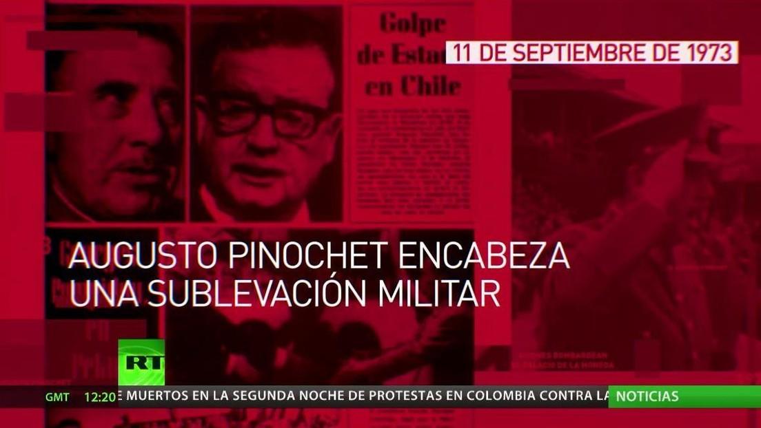 Se cumplen 47 años del golpe militar que derrocó al Gobierno chileno de Salvador Allende