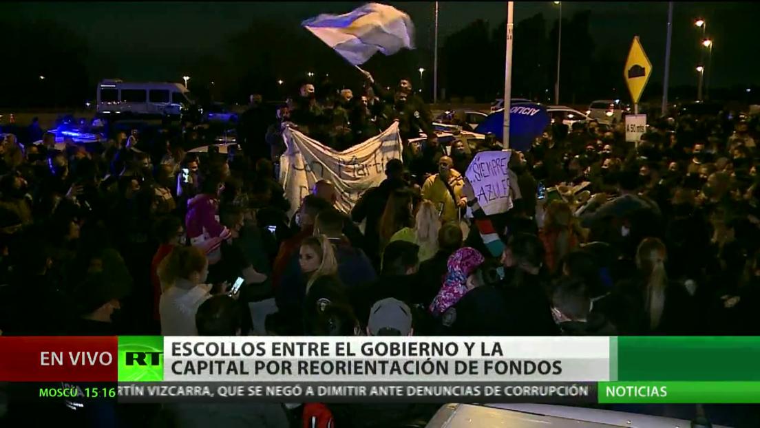 Crece la tensión entre el Gobierno central de Argentina y la capital por la reestructuración de fondos