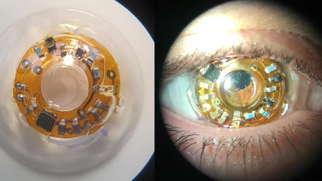 VIDEO: Crean una lente inspirada en los X-Men, capaz de rastrear la mirada mediante un láser