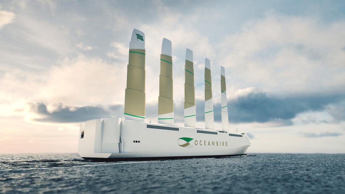 Una empresa sueca presenta su proyecto para el transporte de autos mediante el velero más grande del mundo
