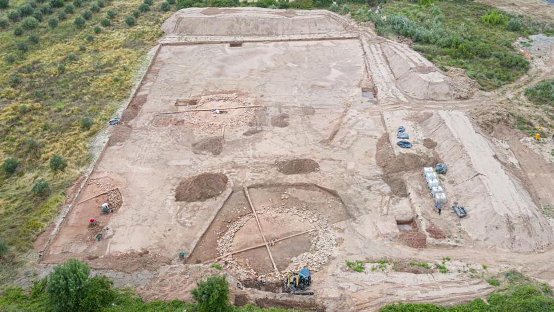 FOTOS: Descubren en Francia tres tumbas monumentales de forma circular de casi 4.000 años de antigüedad