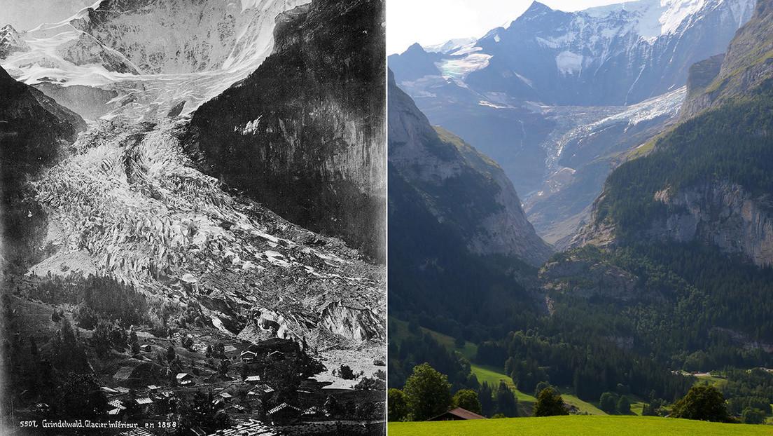 FOTOS: Comparten fotos del 'antes y hoy' y muestran cuán drásticamente ha cambiado el mundo