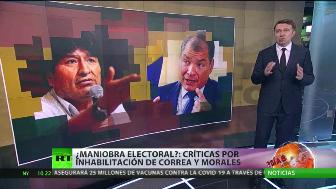 Inhabilitan a Evo Morales y Rafael Correa como candidatos para las próximas elecciones