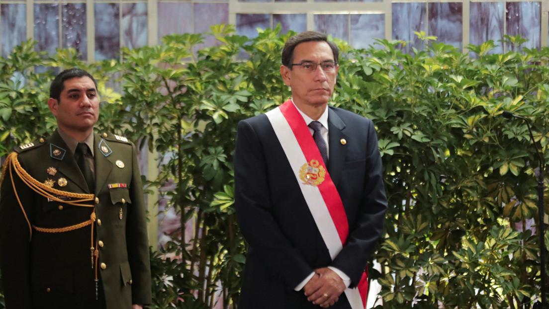 Crisis política en Perú: Vizcarra denuncia una «conspiración» entre el titular del Congreso y altos mandos militares para destituirlo