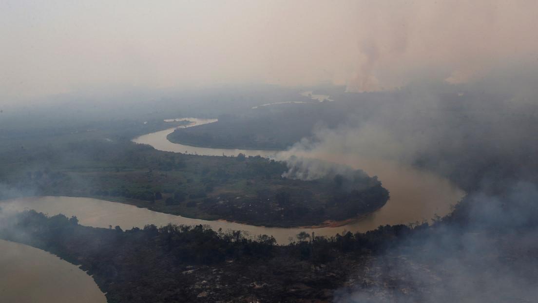 El estado brasileño de Mato Grosso, en situación de emergencia por los incendios en el Pantanal