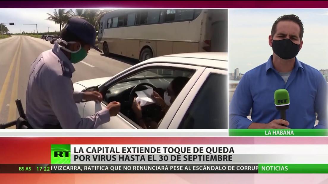 La Capital De Cuba Extiende El Toque De Queda Por El Coronavirus Hasta El 30 De Septiembre Rt