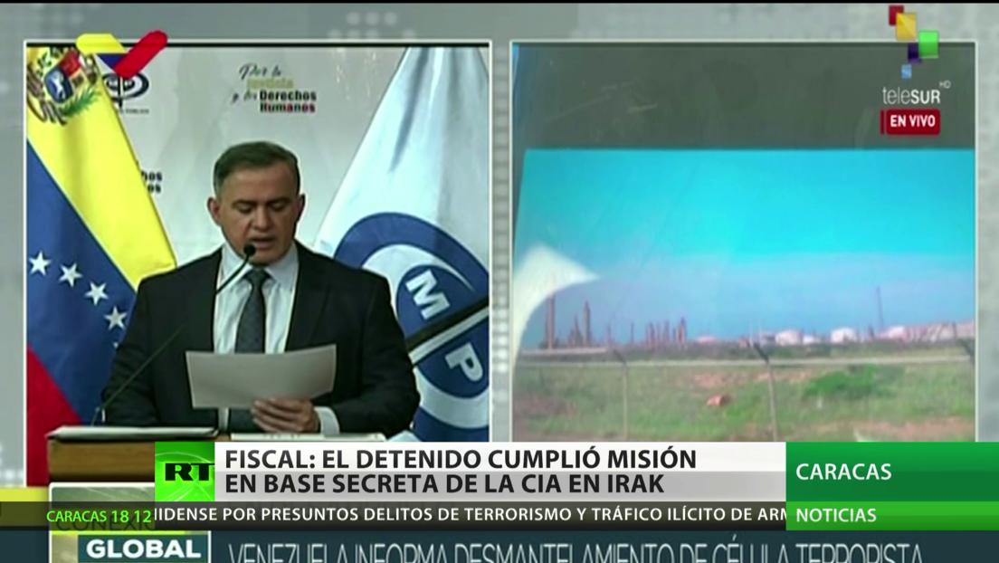Venezuela: El estadounidense detenido cumplió misión en una base de la CIA en Irak
