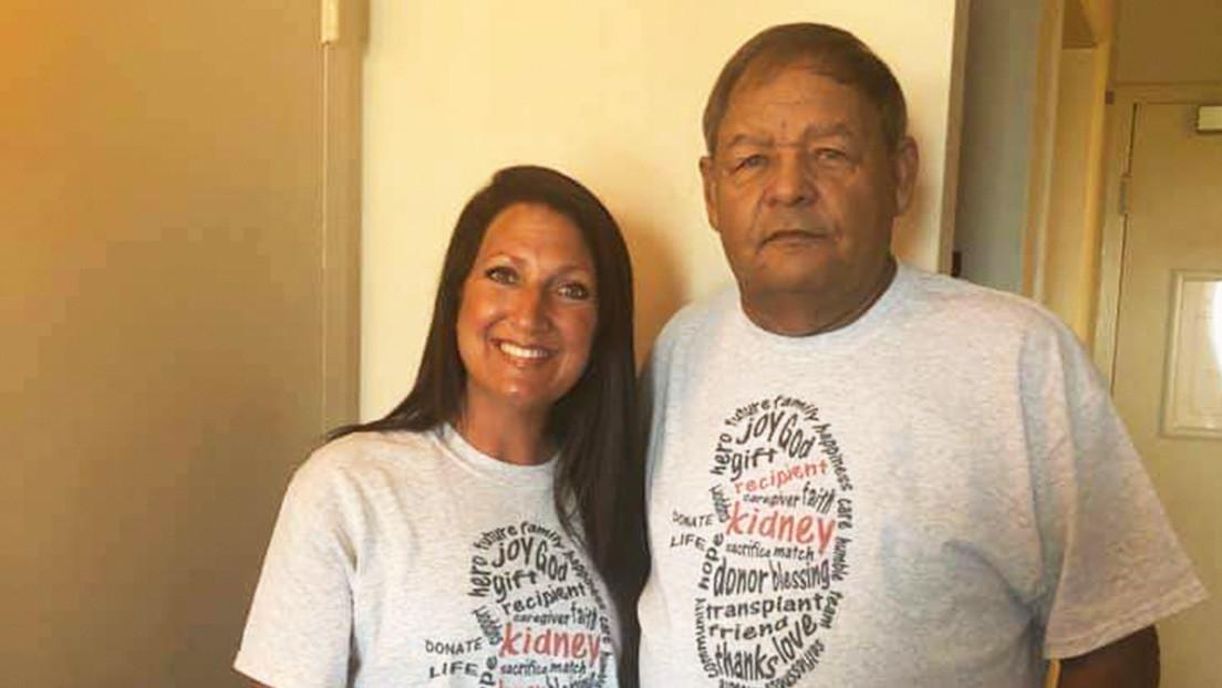 Una mujer le dona un riñón al expolicía que la arrestó varias veces y le salva la vida