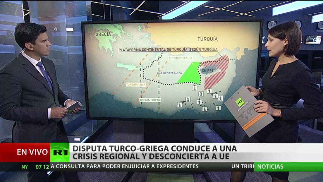 La disputa turco-griega en el Mediterráneo conduce a una crisis regional y desconcierta a la UE
