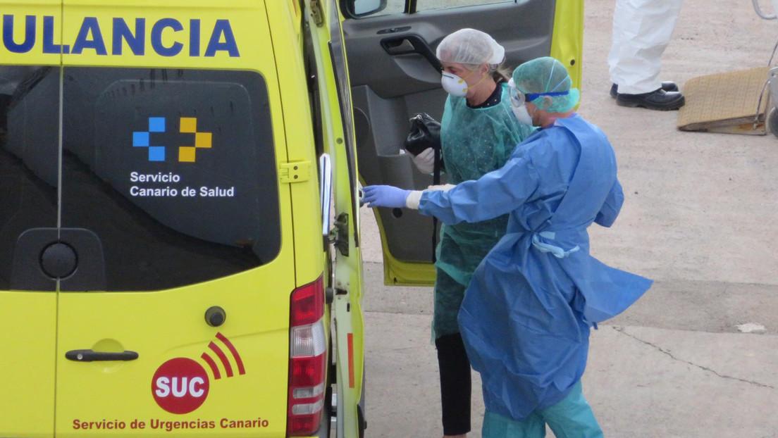 Un turista británico, en coma inducido tras romperse el cuello al tirarse a una piscina en España