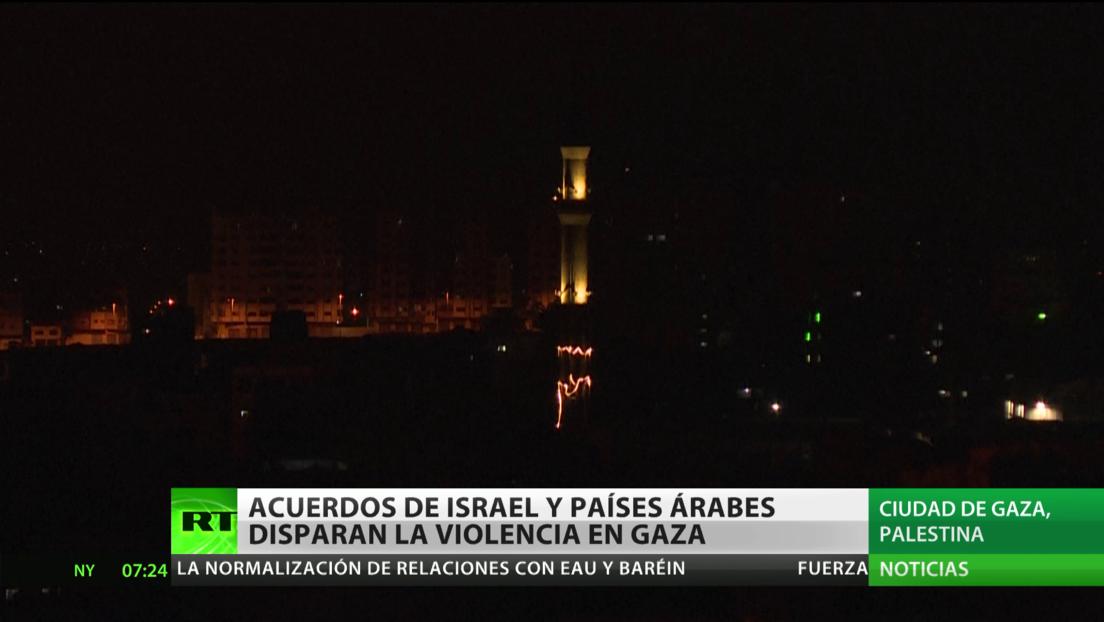 Acuerdos de paz de Israel con EAU y Baréin disparan la violencia en la Franja de Gaza