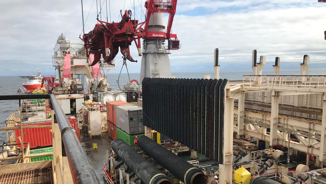 Zeit: Alemania ofreció a EE.UU. un trato de mil millones de euros para salvar el Nord Stream 2