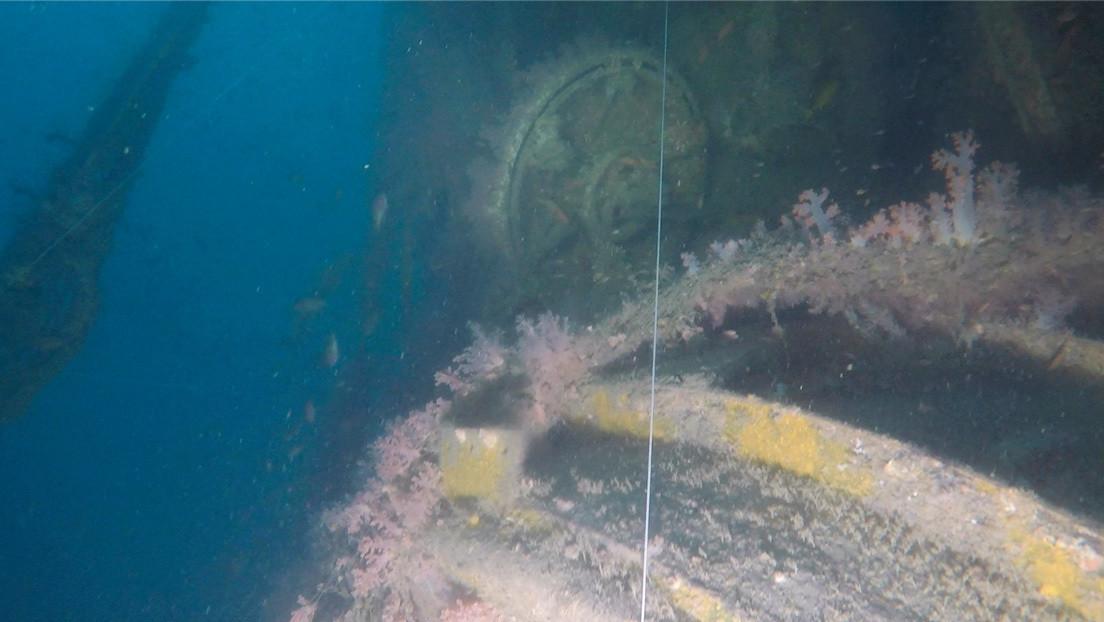 VIDEO: Buzos hallan en el sudeste asiático un submarino estadounidense perdido en la Segunda Guerra Mundial