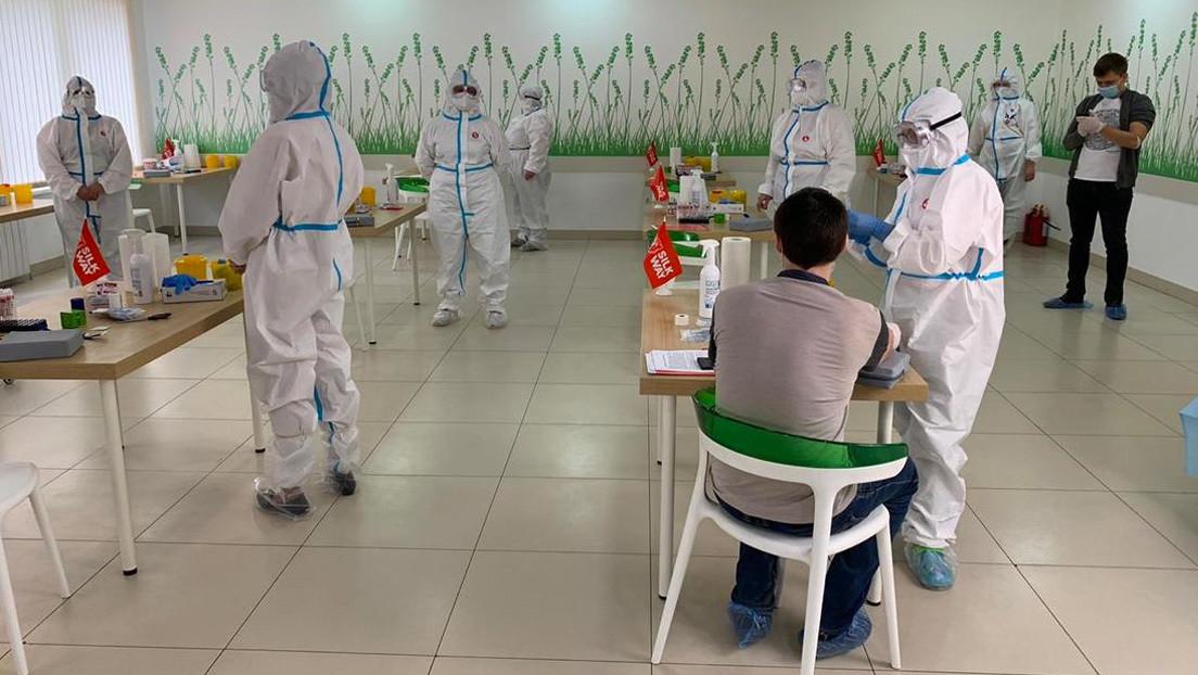 Los primeros extranjeros en probar la vacuna rusa contra el covid-19 serán voluntarios que trabajan en RT