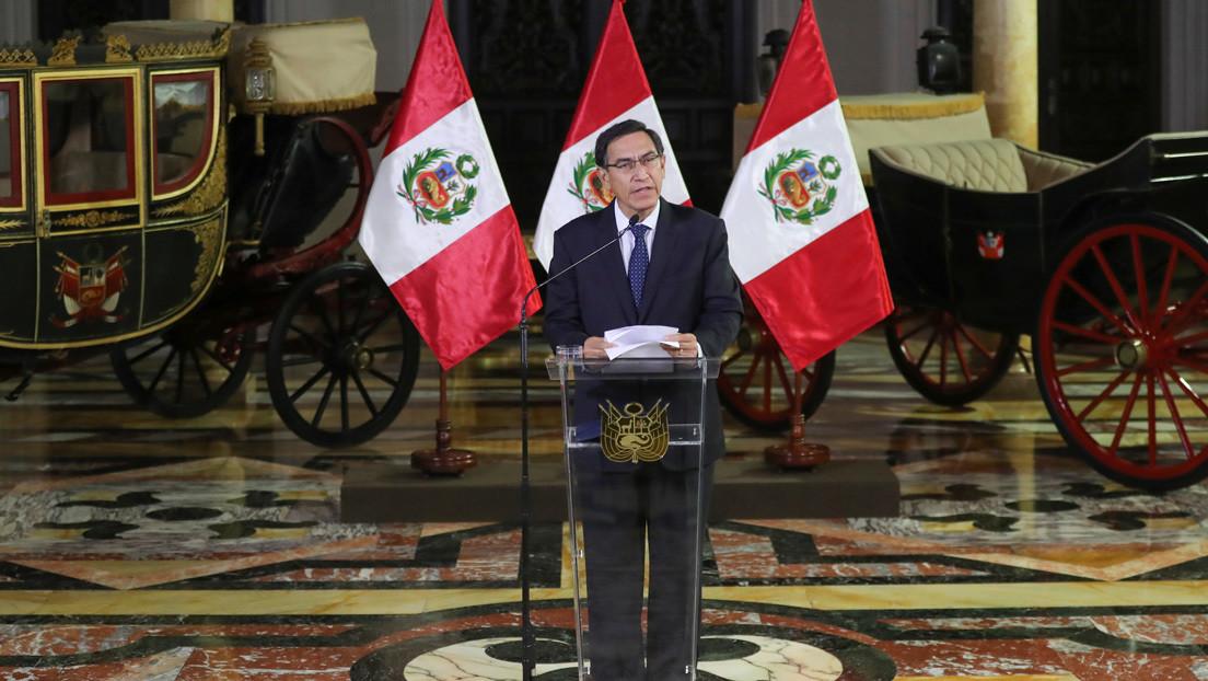 El Tribunal Constitucional de Perú rechaza la medida cautelar presentada por el presidente Vizcarra para frenar el pedido de vacancia