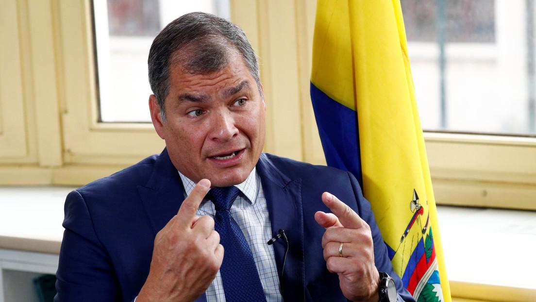 Correa confirma a RT que Carlos Rabascall será su reemplazo como candidato a la Vicepresidencia de Ecuador