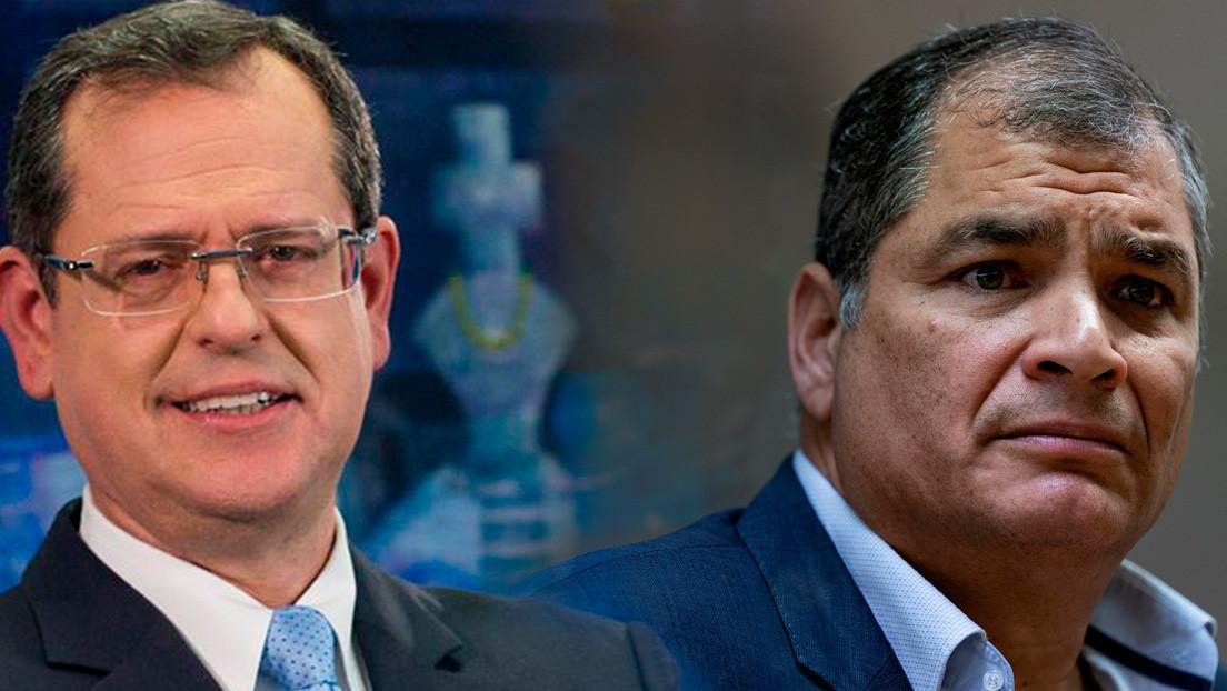 Quién es Carlos Rabascall, el candidato a vicepresidente que sustituirá a Correa en las elecciones ecuatorianas