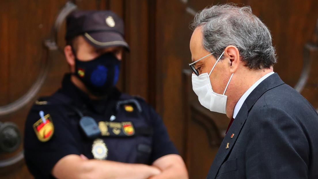 El presidente de Cataluña ante el Tribunal Supremo: ¿qué sucederá si se confirma su inhabilitación?
