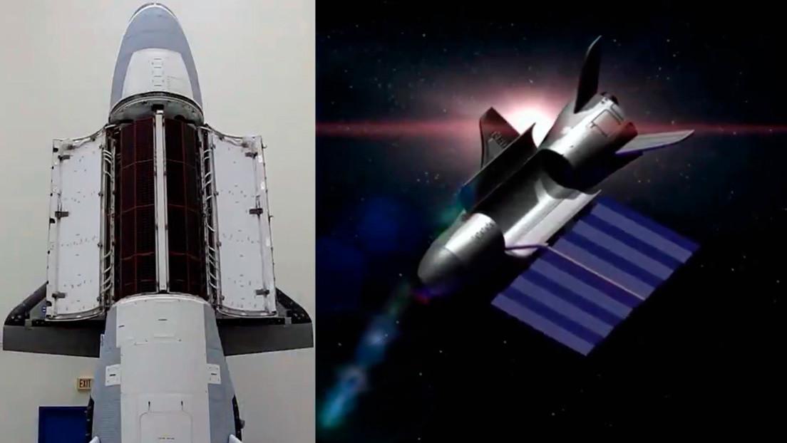 VIDEO: EE.UU. muestra por primera vez el interior de la misteriosa nave espacial reutilizable X-37B