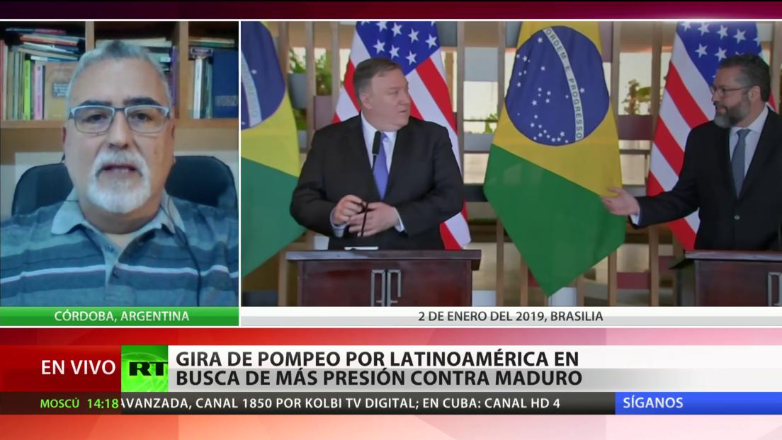 """Experto: La gira de Pompeo por Latinoamérica busca """"la conquista del voto latino en EE.UU."""""""