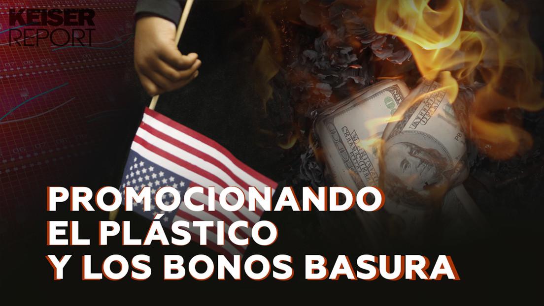 """""""La economía de EE.UU. está inmersa en una burbuja de bonos y valores descomunal"""""""