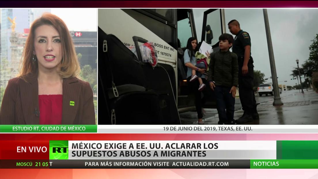 México exige a EE.UU. aclarar los supuestos abusos a migrantes