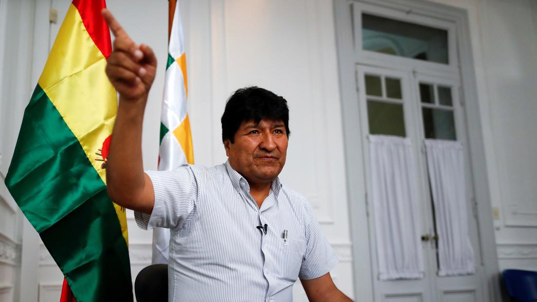 """Evo Morales tras la renuncia de la candidatura de Áñez: """"Estaba decidida, solo faltaba negociar su impunidad"""""""