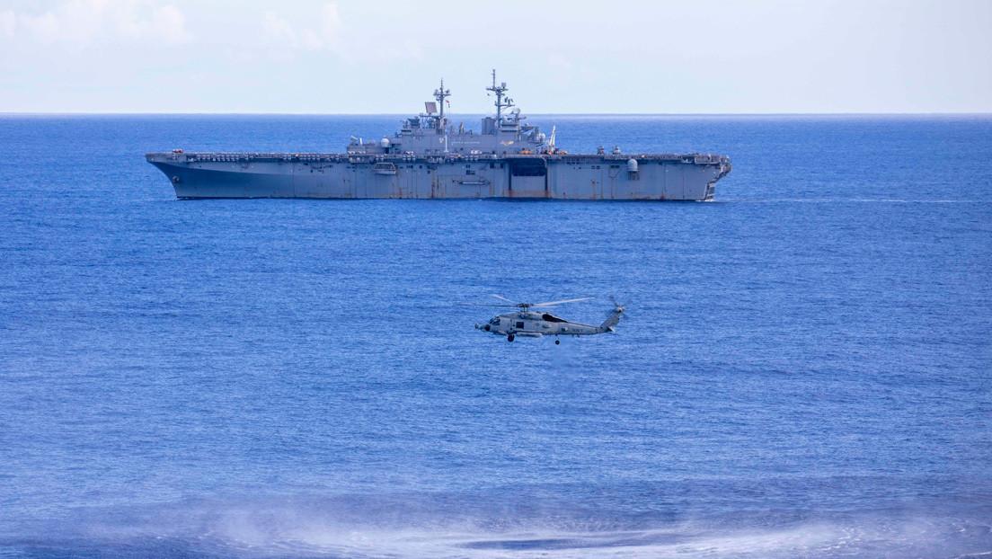 La Armada de EE.UU. realiza ejercicios de gran escala para combatir contra sumergibles de Rusia