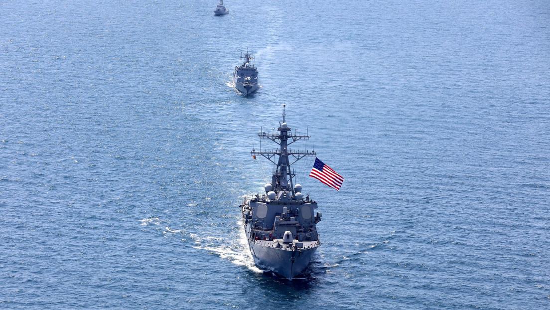 """Moscú: """"Toda la responsabilidad de una posible escalada de la situación en el mar Negro recaerá en EE.UU."""""""